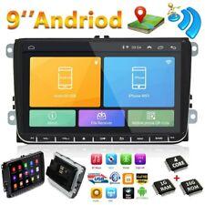 "9 ""GPS Navi Android 8.1 Autoradio WIFI MP5 pour VW Passat Golf MK5 MK6 Jetta T5"