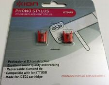New Genuine Ion Turntable Stylus 2-Pack TTUSB LP Profile XL Pro ICT04RS