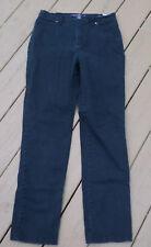 Gloria Vanderbilt Black Amanda Jeans Size 8 Average Bling on Back Pockets