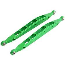 RC AXIAL AX31008 Green Alum Rear Lower Chassis Linkage Link 2P 1:10 Yeti 90026