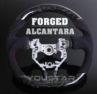 FORGED CARBON D-Type Alcantara Steering Wheel for Toyota 86 Subaru BRZ Scion FRS