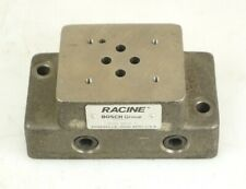 Boschracine 959674 D01h N03c Subplate Manifold Hydraulic