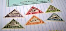 LIBERIA 1936 STAMP SET AIR MAIL SET OF 6 MNH LOT 85