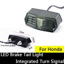 12V LED Tail Light Brake Turn Signals For Honda CTX700 CTX700N CBR650F MSX125