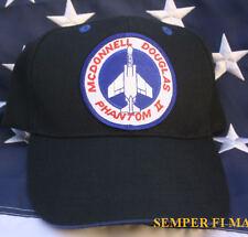 F-4 PHANTOM II HAT BALL CAP MCAS AFB NAS USS MCDONNELL US NAVY MARINES AIR FORCE