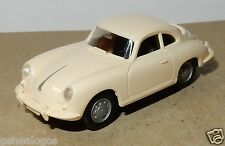 MICRO WIKING HO 1/87 PORSCHE 356 COUPE CREME no BOX