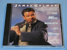 JAMES GALWAY The Wind Beneath My Wings (CD 1991) MADE IN USA