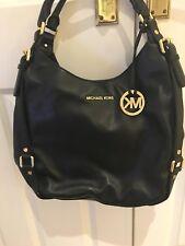 e0e670893f12 Michael Kors Women's Bedford Large Shoulder Tote Shoulder Bag Black Schwarz