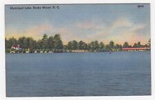 Municipal Lake, Rocky Mount, NC, 1940s