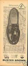 1960 Buster Brown Official Boy Scout Oxford Shoe Print Ad