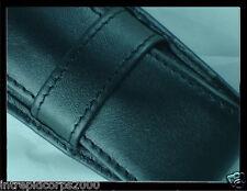 New Authentic Cross full grain Italian Black Leather Pen Case