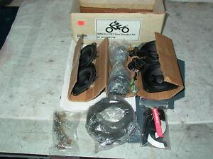 BMW K100LT K100RT K75RT Fairing & TOP case trunk Speaker Upgrade Kit - NOS