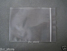 "500 Poly Ziplock Clear Zipper Bags 6.3"" x 9.4""_160 x 240mm"