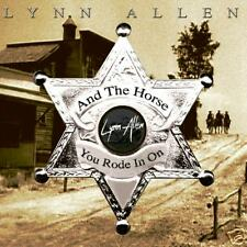 "Lynn Allen ""And the Horse you rode in on"" classic melodic rock band 2007 CD"