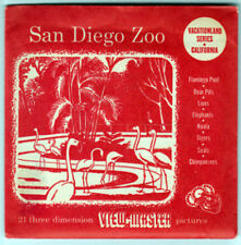 VIEW-MASTER S3D - SAN DIEGO ZOO CALIFORNIA | Buy 3 or More For Free Shipping