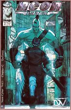 NEON CYBER Issue #2 September 1999 Variant Cover Issue