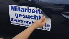 Magnetfolie, Magnetschild, Magnetaufkleber für Auto, inkl. Druck, 2 St. 60x30 cm