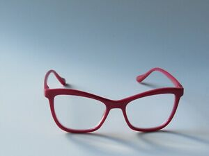 Betsey Johnson ARCHED FRAME Reading Glasses Readers Red NEW