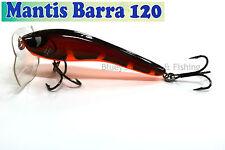 Kingfisher Mantis Barra 120mm Cod surface fishing lure; 08 Fireball