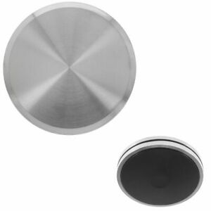 NEFF COOKER OVEN HOB SILVER CHROME CONTROL KNOB DIAL POINT & TWISTIN 00614176