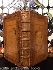 1624 Bible & Commentary of Jesuit Joannes Lorinus Society Jesus Armorial FOLIO