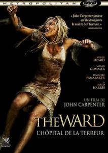 DVD - THE WARD, L'HÔPITAL DE LA TERREUR / JOHN CARPENTER, HAMBER HEAD, ED HARRIS