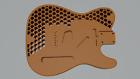 Fender Telecaster 3D printed Body