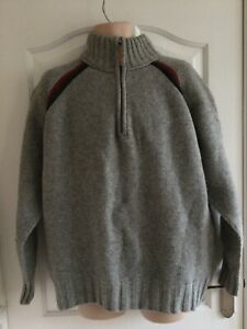 Fat Face Chunky Knit Lambs Wool Jumper Size XL Chest 52/54  VG C