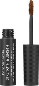 Strength & Length Serum-Infused Brow Gel by BARE MINERALS, 0.16 oz Coffee