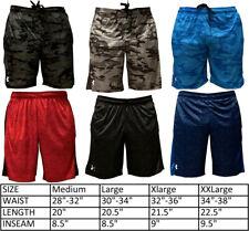 Under Armour Heat Gear Men's Athletic Shorts Gym Basketball Training Drawstring