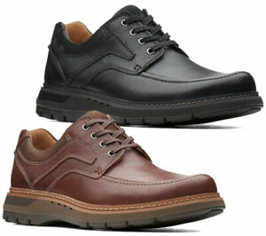 Mens Clarks Un-Ramble Casual Lace Up Smart Leather Shoes Sizes 6 to 14