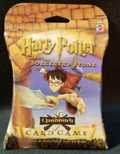 Harry Potter And The Sorcerers Stone Quidditch Card Game New Sealed 2000