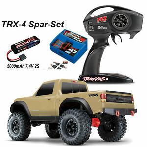 Traxxas # TRX82024-4TAN-combo TRX-4 SPORT 4x4 RTR 2,4GHz +5000-2S Lipo + Lader