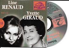 CD CARTONNE CARDSLEEVE 25T LINE RENAUD /YVETTE GIRAUD