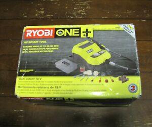 New Ryobi 18-Volt ONE Cordless Rotary Tool (Tool & Bits Only) Ryobi # P460 GS
