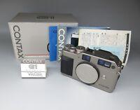 【Excellent+】Contax G1 35mm Rangefinder Film Camera W/ Box