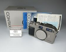 【Excellent+】Contax G1 35mm Rangefinder Film Camera W/ Box