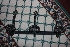Interesting Gothic Medieval Iron Clothes Rack Plant Holder-Spiral Twist-LQQK