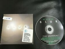 Blur-The universal.cd promo