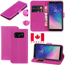 For Samsung Galaxy S8 Plus Premium PU Leather Wallet Flip Stand Case Cover