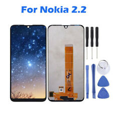 For Nokia 2.2 Black LCD Display Touch Screen Digitizer Assembly Replacement Tool