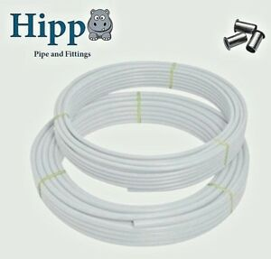 HippO Pushfit Barrier pipe 10/15mm Hep20/Speedfit very Flexible alternative