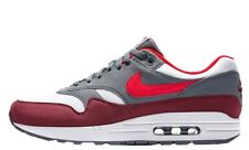 NEW Nike Air Max 1 White/University Red-Cool Grey (AH8145-100) US10/EU44
