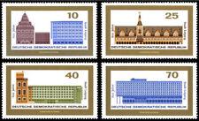 EBS East Germany DDR 1965 800th Anniversary Leipzig Michel 1126-1129 MNH**