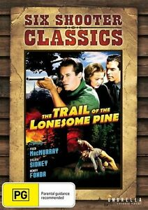 THE TRAIL OF THE LONESOME PINE - HENRY FONDA (DVD) BRAND NEW!!! SEALED!!!