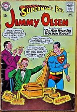 "SUPERMAN'S PAL JIMMY OLSEN COMICS #73 (1963) ""The KID WITH THE GOLDEN TOUCH!"""