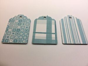 10 Blue Gift Tags