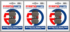 Honda TRX 400 EX Sportrax 01-08 Front & Rear Brake Pads Full set (3 Pairs)
