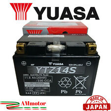 Batteria Yuasa YTZ14S Honda Nc 750 X Abs 2016 Moto Originale Al Gel Sigillata