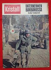 KRISTALL 1962 Nr. 6: Unternehmen Barbarossa / Wilder Westen / Grzimek